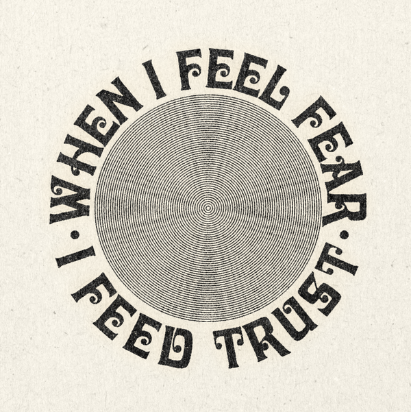 Feed Trust Print by Daren Magee