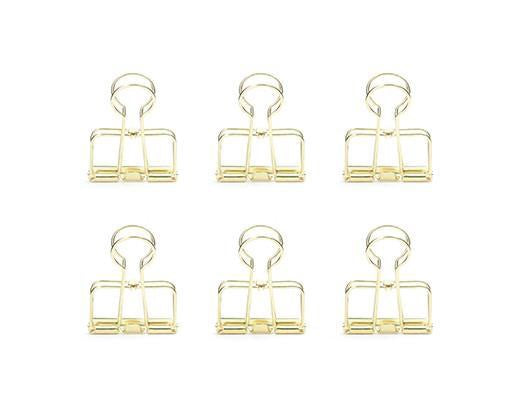 Gold Wire Clips