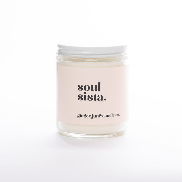 Soul Sista Candle By  Ginger June Candle Co.