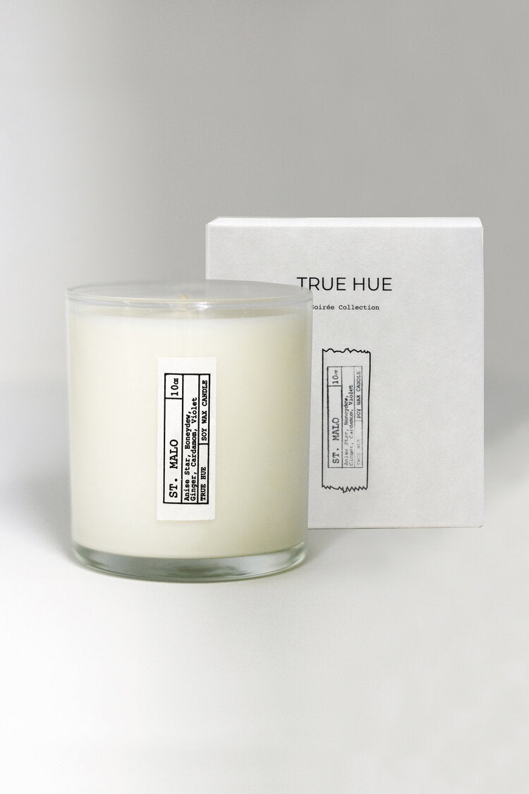St Malo Soiree Candle by True Hue
