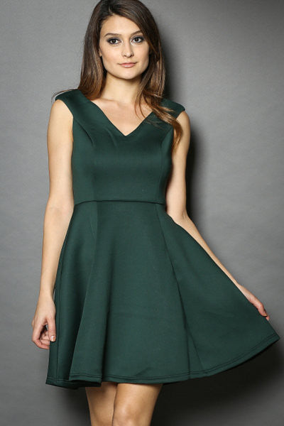 The Perfect Green Dinner Dress