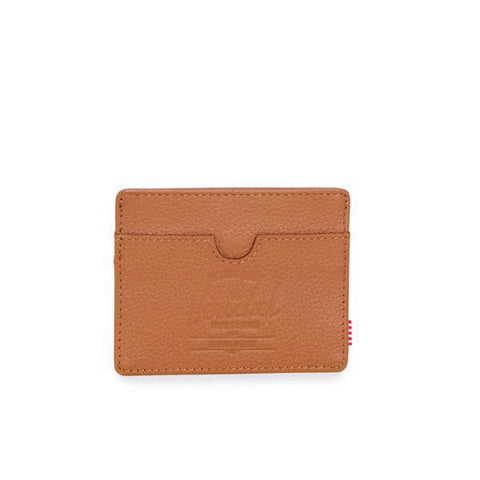 Charlie Tan Pebbled Leather Wallet by Herschel Supply Co.