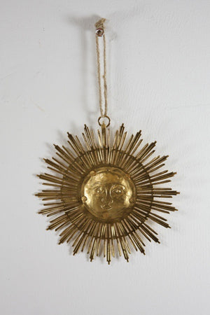 The Gold Soleil Ornament