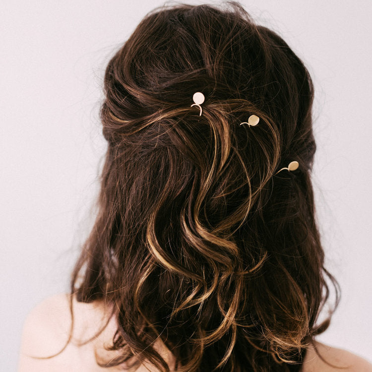 Mono Mini Hair Pin by Favor Jewelry