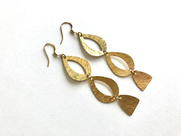 Sacred Eyes Earrings by Blue Begonia