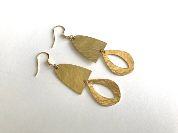 Sage Earrings by Blue Begonia