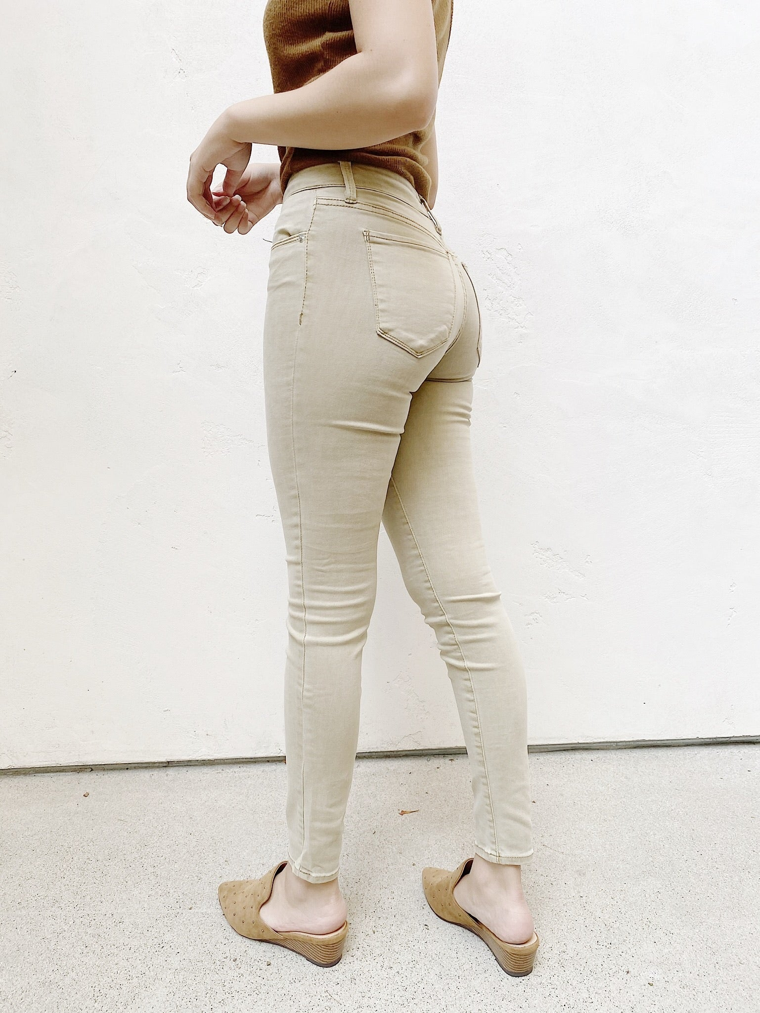 The Kate Mid-Rise Skinny by OAT NY
