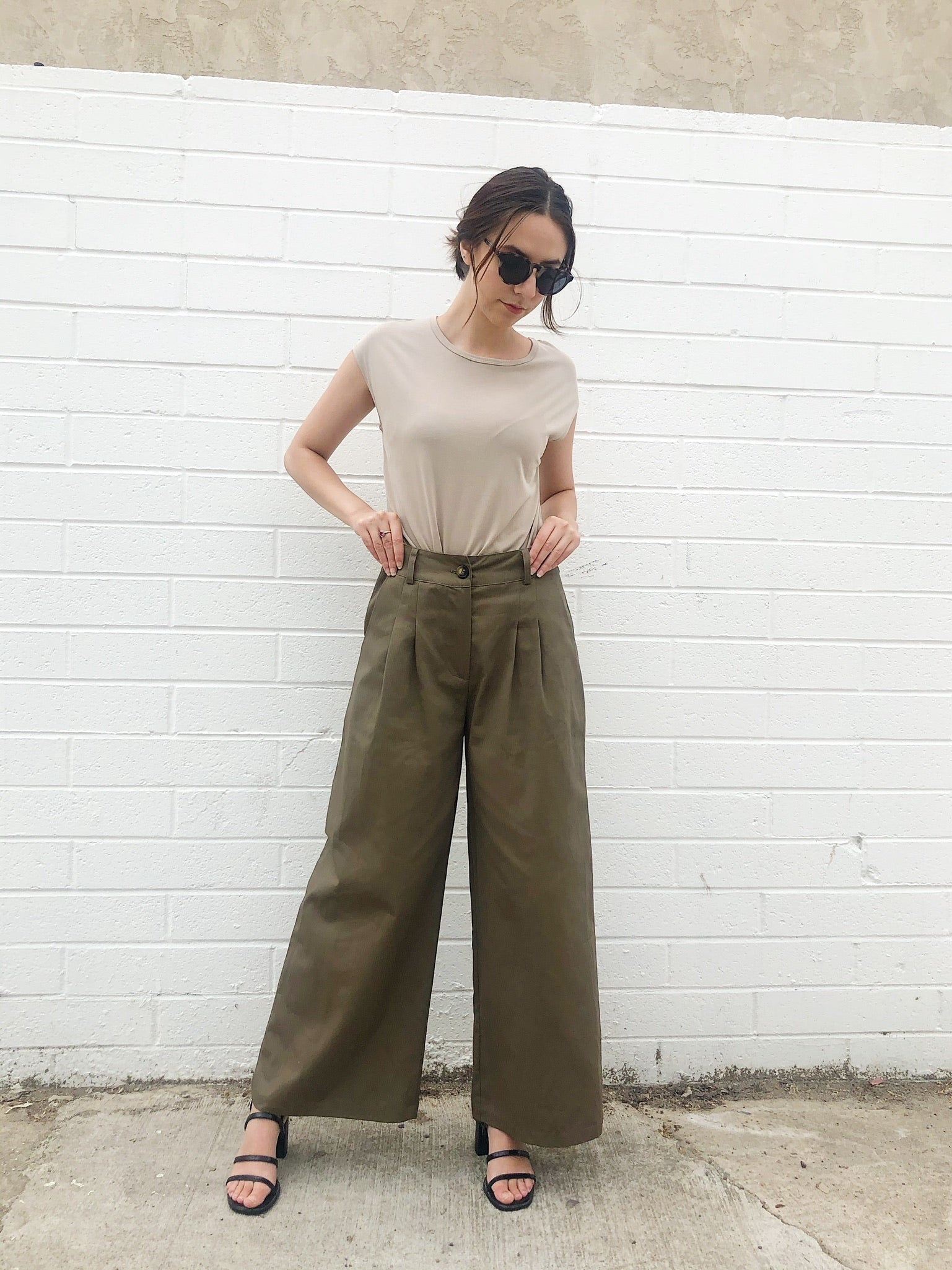 The Marisa Pleated Trouser