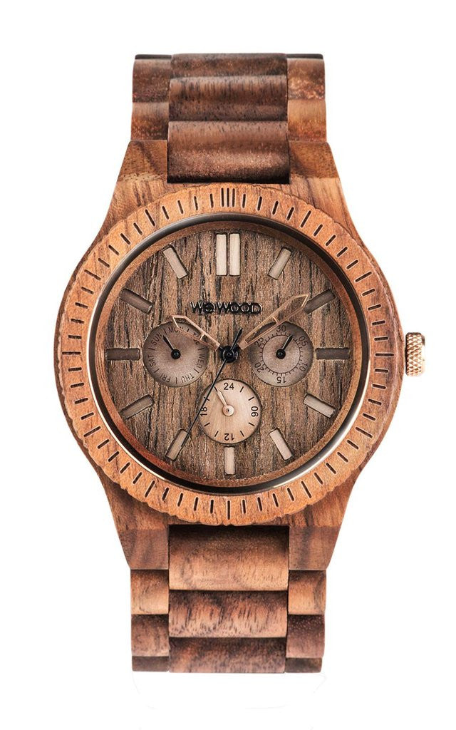 Kappa Nut Brushed Watch by WeWood
