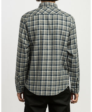 The Hero Plaid Button-Up Shirt by RVCA