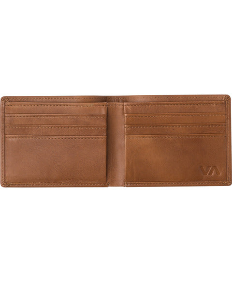 The Crest Bi-Fold Wallet by RVCA