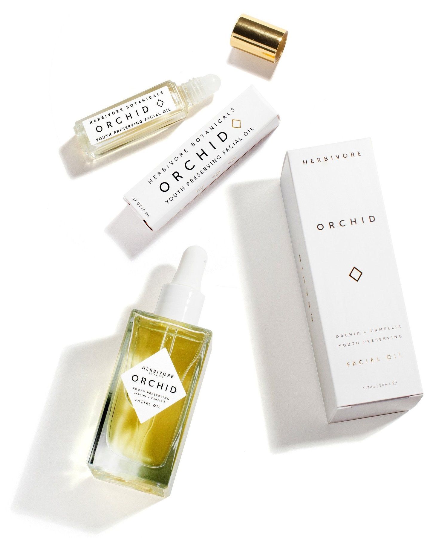 Orchid Facial Oil by Herbivore Botanicals