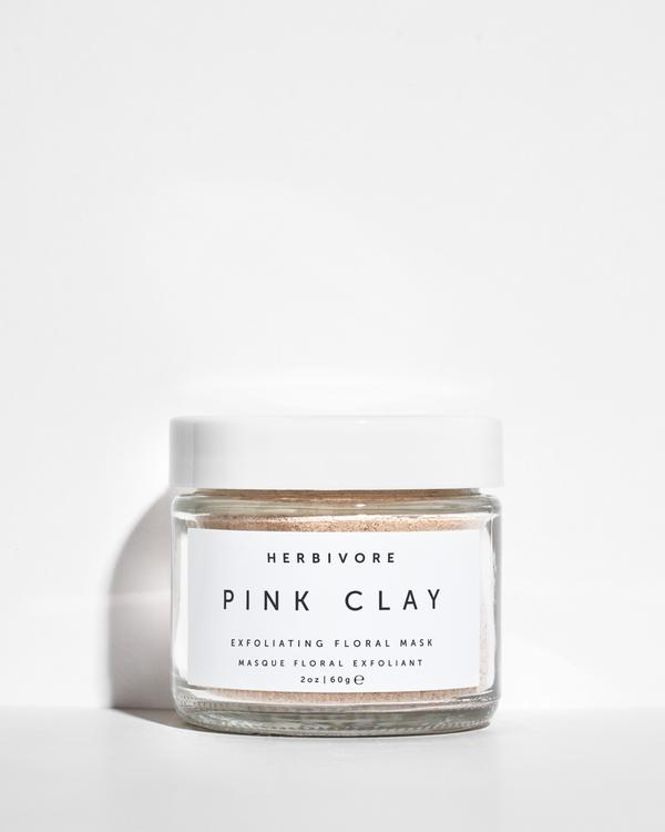 Pink Clay Exfoliating Mask by Herbivore Botanicals