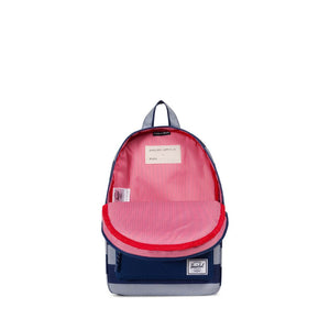 Quarry/Blueprint Stripe Heritage Kid's Backpack by Herschel Supply Co.