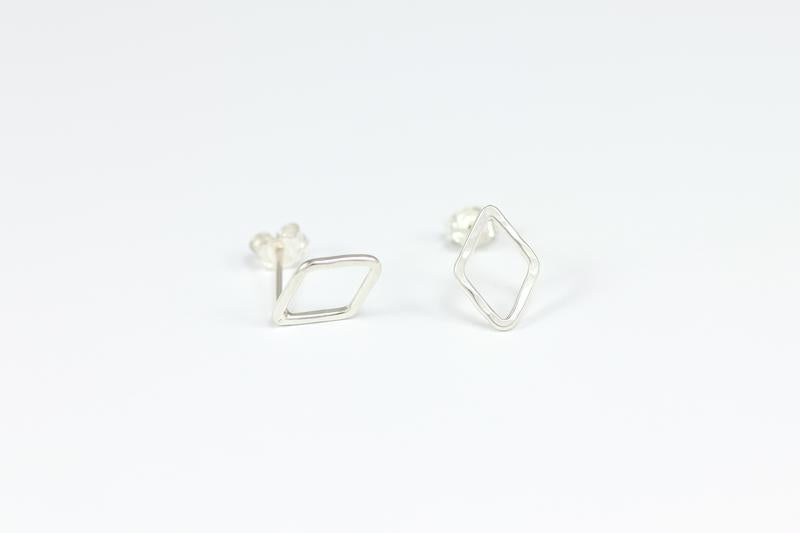 The Tiny Diamond Stud Earrings By Sloane Jewelry