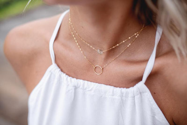 The Herkimer Choker By Token Jewelry