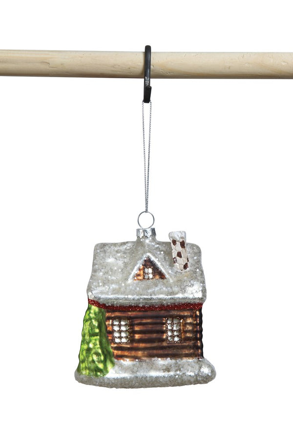 Glass Cabin Ornament