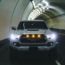 Load image into Gallery viewer, 3rd Gen Tacoma TRD Pro Grill with Raptor LED Kit (16-21)