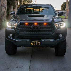 Universal Tacoma & 4Runner LED Raptor Light Kit (Amber)