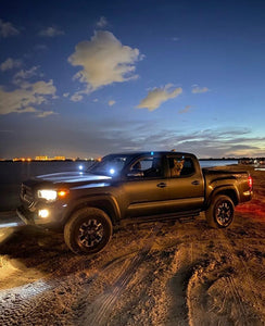 3rd Gen Tacoma (16-21) LED Ditch Lights with Brackets & Wiring Harness
