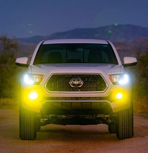 H11 White/Yellow LED Fog Lights