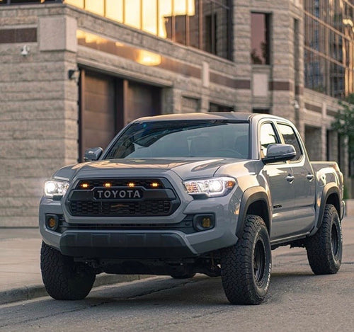 3rd Gen Tacoma TRD Pro Grill with Raptor LED Kit (16-20)