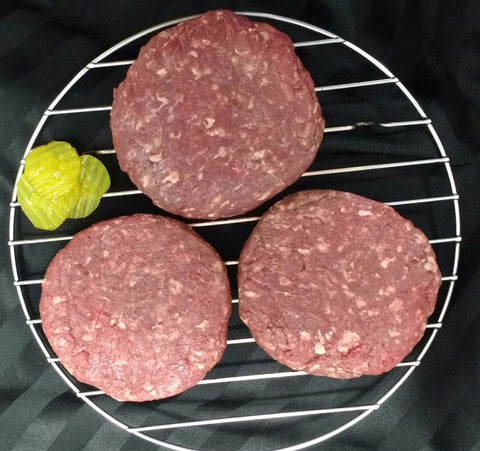 Bison Patties - 3 (1/3lb) patties (1 lb. total)
