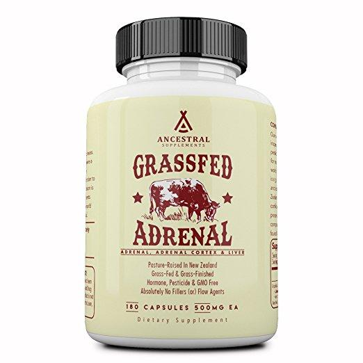 Grass Fed Adrenal Cortex With Liver