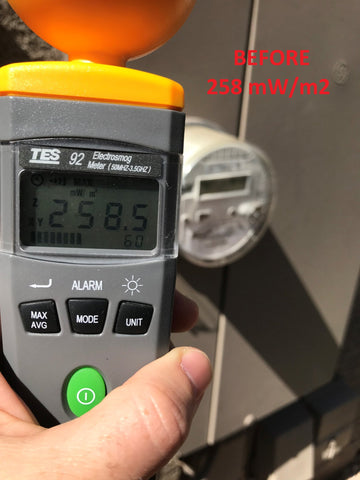 Image of Smart Meter Cover RF Radiation Shield
