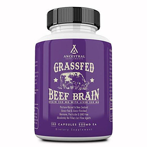 Grass Fed Beef Brain With Liver