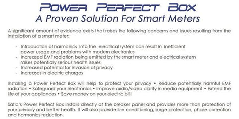 Image of Power Perfect Box - Whole House Dirty Electricity Filter