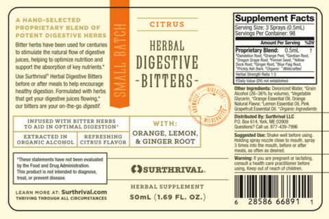 Image of Herbal Digestive Bitters