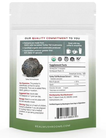 Image of Turkey Tail Extract - 45g Bulk Powder
