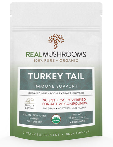 Turkey Tail Extract - 45g Bulk Powder