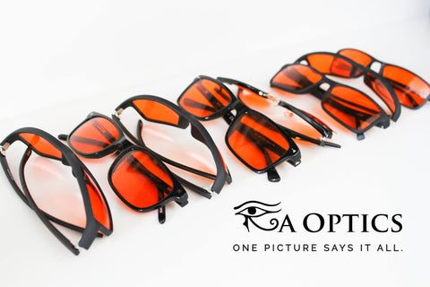 Image of Ra Optics Blue Blocking Glasses
