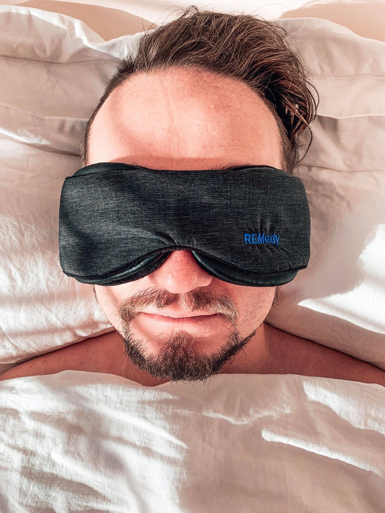 REMedy Sleep Mask 100% Light Blockage