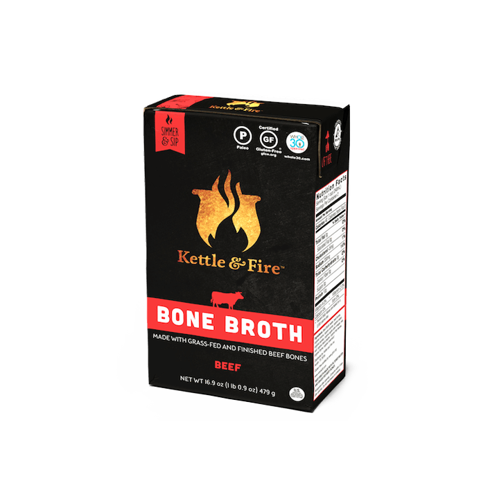 100% Grass Fed Beef Bone Broth