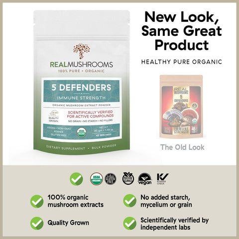 Image of 5 Defenders - 45g Bulk Powder