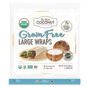 Grain Free Large Wraps