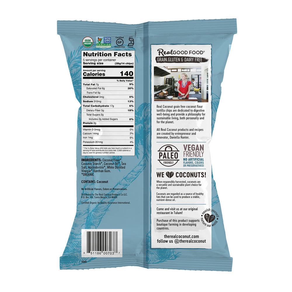 Sea Salt & Vinegar Tortilla Chips