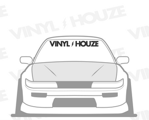 Vinyl Houze Support Windshield Banner - VINYL HOUZE