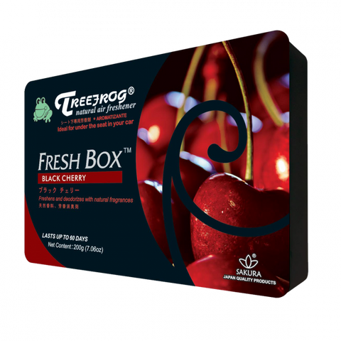 Treefrog Fresh Box - Black Cherry - VINYL HOUZE