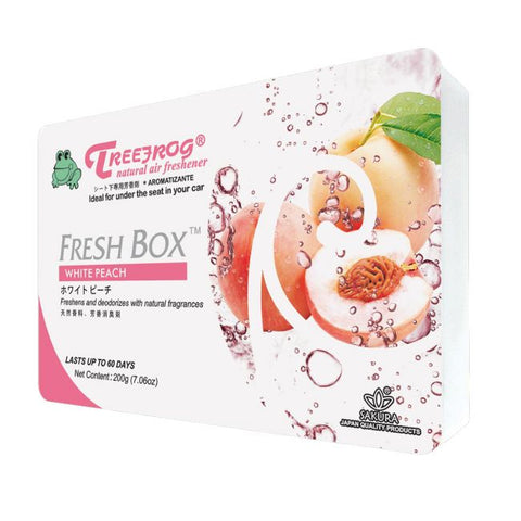 Treefrog Fresh Box - White Peach - VINYL HOUZE