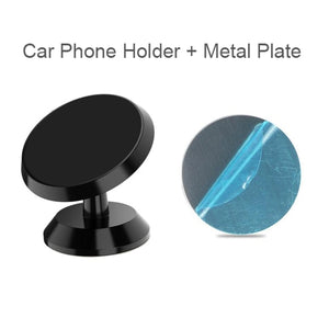 Sleek Magnetic Phone Dash Mount - VINYL HOUZE