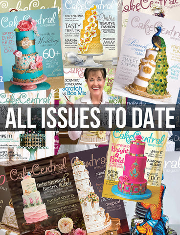 Cake Central Magazine - All Issues Bundle