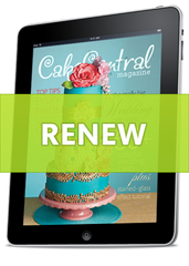 Cake Central Digital Magazine Renewal