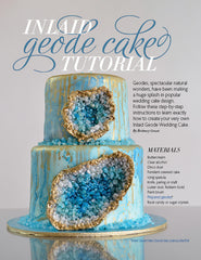 Inlaid Geode Cake Tutorial PDF