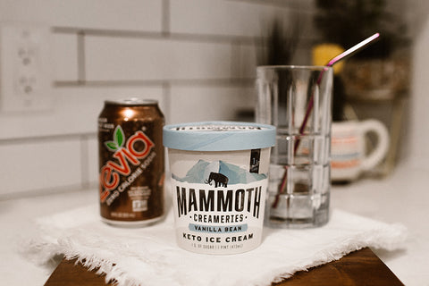 mammoth creameries keto ice cream and keto friendly root beer