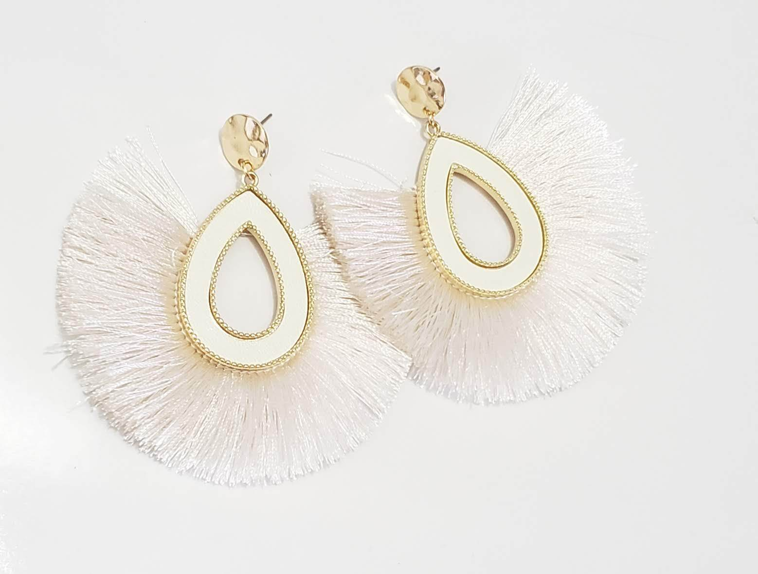 Bold and Beautiful Tassel Earrings ( Different Colors Available)