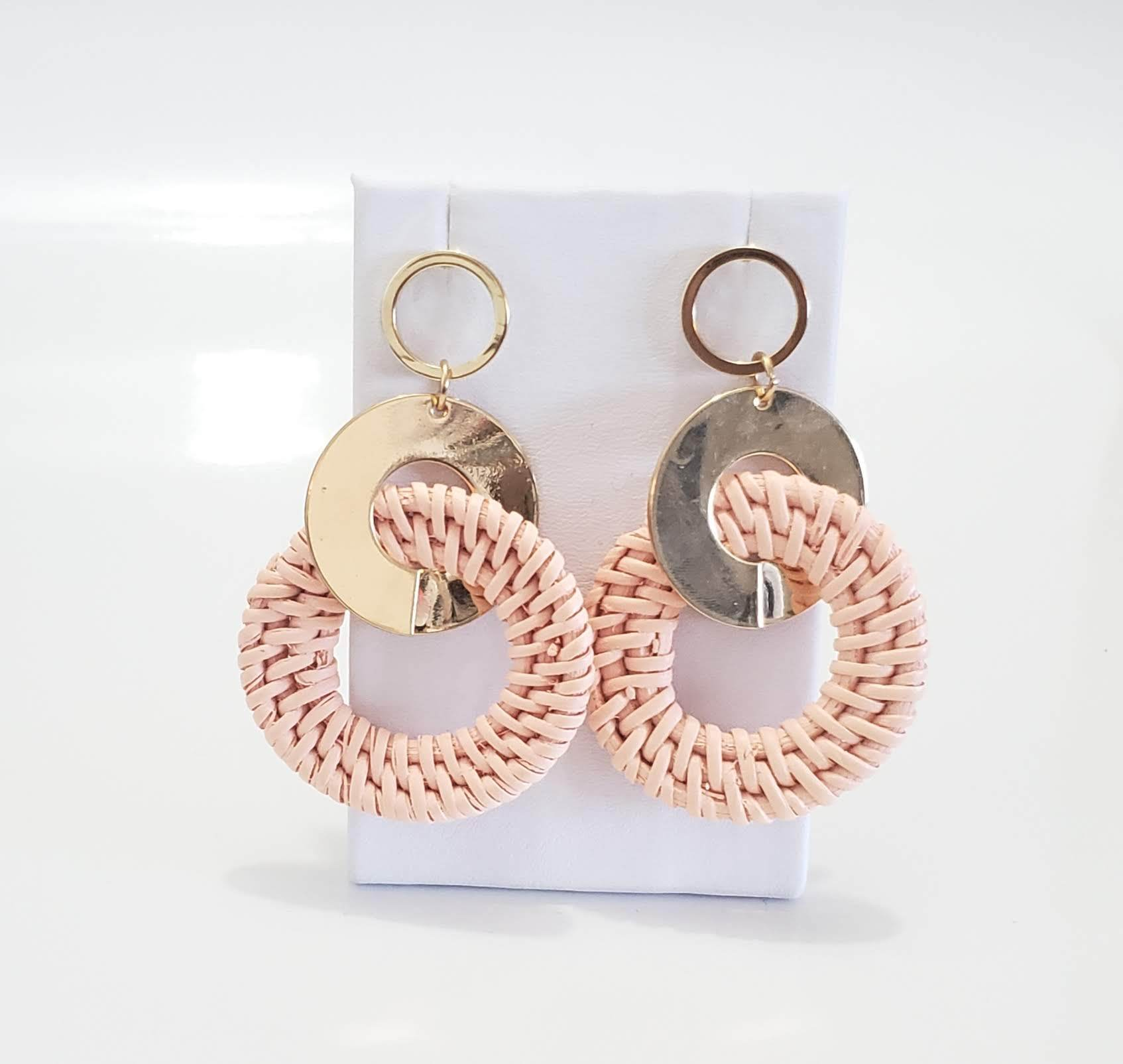Cote Chic Round Drop Earrings